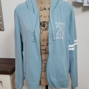 Victoria's secret zip up hoodie xl